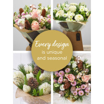 WINTER FLORIST'S CHOICE FLORAL GIFT BOX
