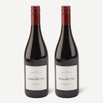 Two bottles of Les Amourettes, Cabernet Sauvignon/ Syrah