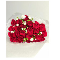 Bouquet with 24 roses