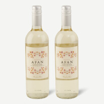 Two bottles of Afan, Macabeo